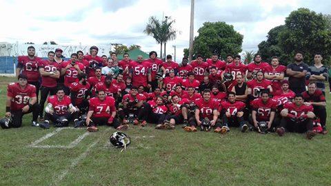 Os londrinenses estão na vice-liderança do Grupo A, atrás somente do Araçatuba Touros. Foto: Reprodução Facebook