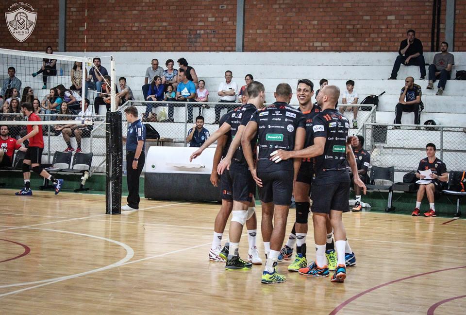 Para a Superliga, Maringá trouxe diversos reforços Foto Divulgação CBV