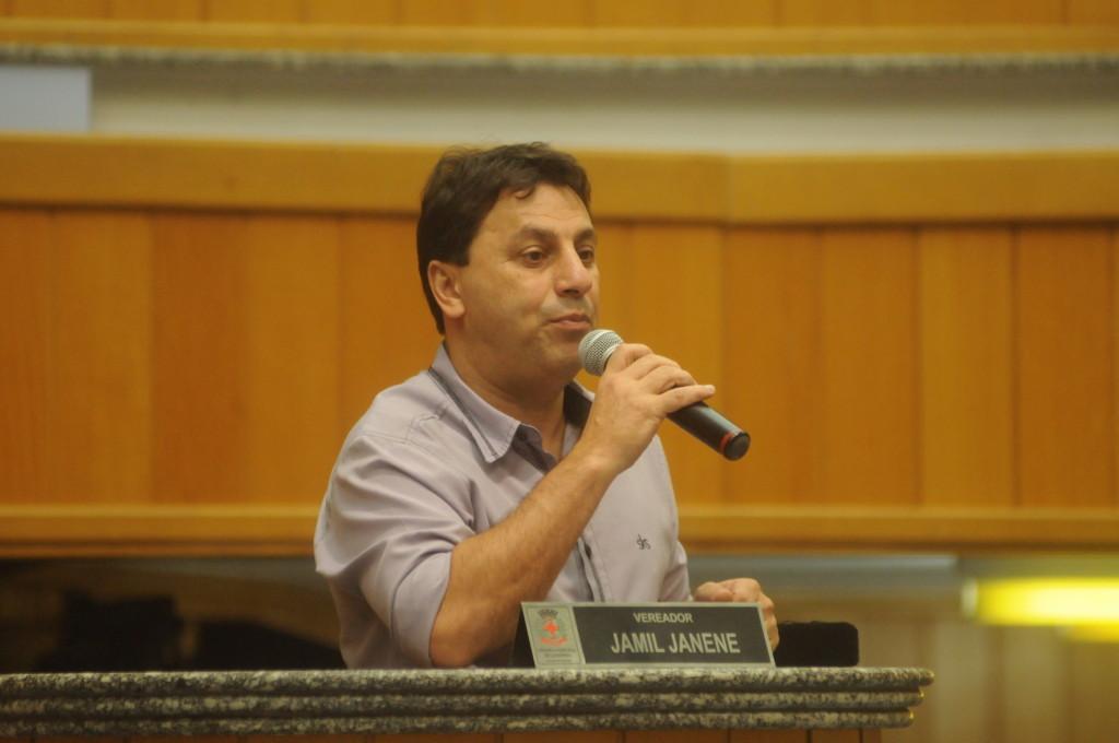 Com a ida de do primeiro suplente, Tio Douglas (PTB), para a Acesf, Jamil Janene (PP) herda a vaga do vereador eleito Madureira (PTB), que assumirá a FEL. Foto: Câmara de Londrina